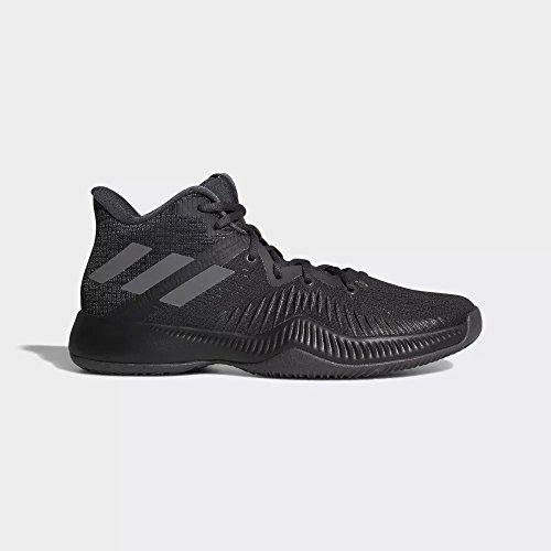 Adidas Basketball Sneakers - adidas Performance Men's Mad Bounce Basketball Shoe, Utility Black/Core Black/Grey Four, 9.5 M US
