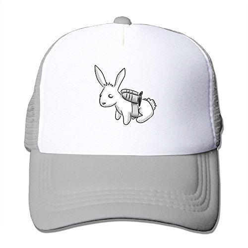 Rocket Bunny Mesh Trucker Hat - Baseball Cap Ash -