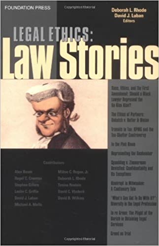 Book Legal Ethics: Law Stories by Deborah Rhode (2005-10-07)