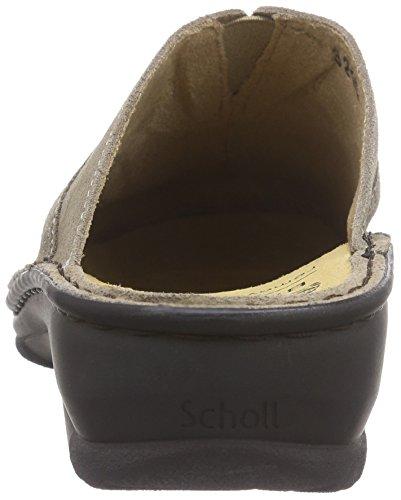 Scholl Femme Beige Beige de Beige Kukora nbsp; Chaussures Claquettes YHrYgw
