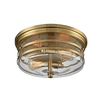 Elk Lighting 11325/2 Close-to-Ceiling fixtures, Brass