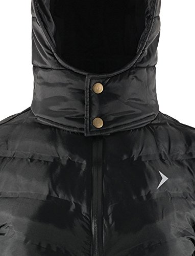 Jacket Black Autumn Jacket Jacket SW17 Jacket KUD608 Jacket Windproof Women's Quilted Winter Waterproof Hooded Quilted for and Jacket Outhorn Long Down nbsp; fw4fv1q