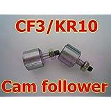 Fevas KR10 CF3 Cam Follower Bearings for 3mm Shaft