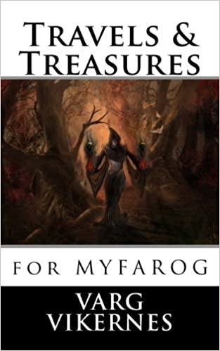 Book Travels & Treasures: for Mythic Fantasy Role-playing Game