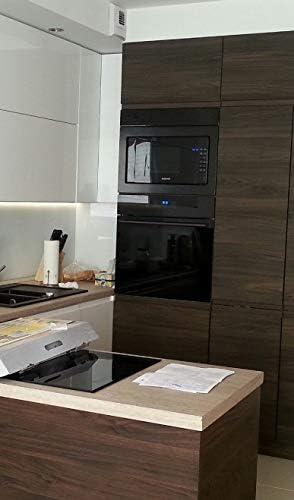 Samsung FG87SUB Integrado 23L 800W Negro - Microondas (Integrado, 23 L, 800 W, Tocar, Negro, Botón): Amazon.es: Hogar