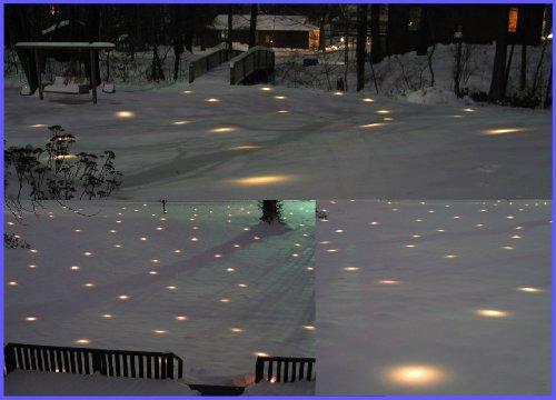 Amazon.com : Lawn Lights Illuminated Outdoor Decoration, LED ...
