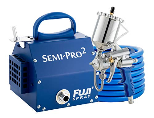 (Fuji 2203G Semi-PRO 2 - Gravity HVLP Spray System, Blue )
