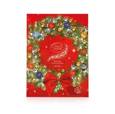 Calendario Avvento Regalo Natale Cioccolatini Assortiti Lindt 299g