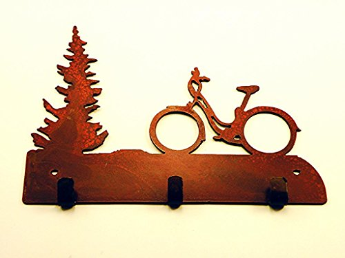 Bicycle Rustic Rusted Metal Jewelry product image