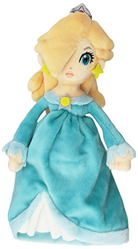 Little Buddy Super Mario Bros. Princess Rosalina Stuffed Plush, 9.5