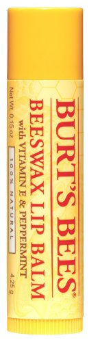 Burt's Bees Beeswax Lip Balm Tube, .15-Ounce Tubes (Pack of 4)