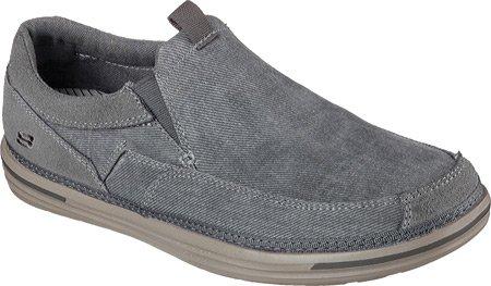 Skechers Landen-Gomer - Mocasines de Lona para Hombre Marrón marrón 39,5 EU: Amazon.es: Zapatos y complementos