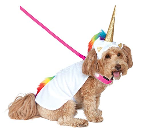 Rubie's Unicorn Cape with Hood and Light-Up Collar...