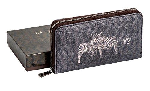 19 Zebra cm Y Not zebra Portemonnaie w4xaq6