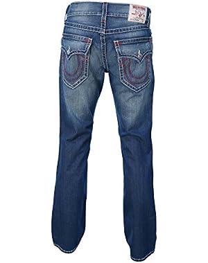 Men's BigT Flap Pocket Straight Leg Denim Jeans