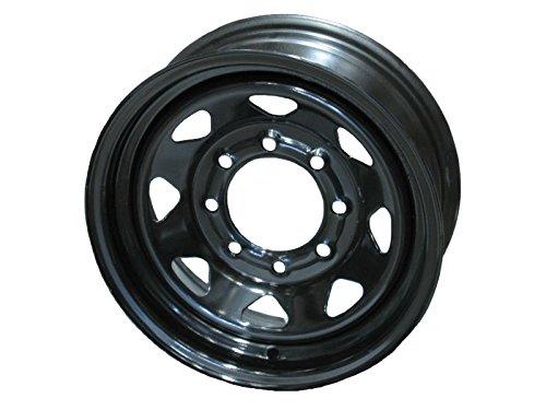 8 lug 16 inch black rims - 2