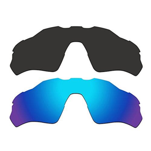ef9b9dc8d5f 2 Pair ACOMPATIBLE Replacement Polarized Vented Lenses for Oakley Radar EV  XS Path (Youth Fit) Sunglasses OJ9001 Pack P4 - Buy Online in Oman.