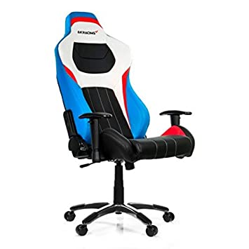 AKRACING AK Racing Premium Style V2-Silla Gaming (Soporte hasta 150 kg), Negro, Azul, Blanco,Rojo: Amazon.es: Hogar