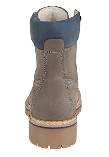 Apple Star Femme Bottines Eden of Gris rxaw6Hrq