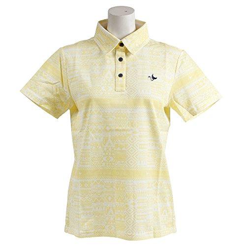 半袖ポロシャツ レディース クランク CLUNK 日本正規品 2018 春夏 ゴルフウェア M(M) イエロー(YEL) mc8s-lmym