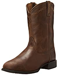 Ariat Men's Heritage Roper Wide Square Toe Western Boot
