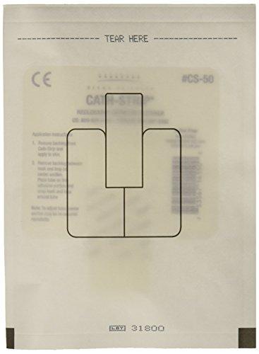 (Derma Sciences CS50 Cath-Strip Reclosable Catheter Fastener (Pack of 50) )