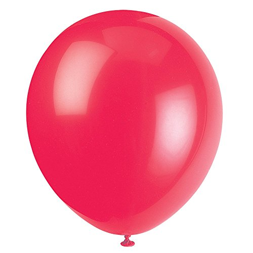 Latex Ruby Red Balloons 72ct
