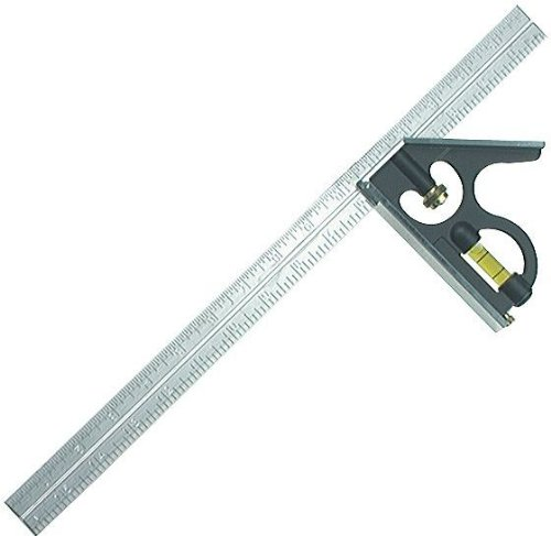 Empire Level 280 16-Inch Heavy Duty Professional Combination Square w/Stainless Steel Blade