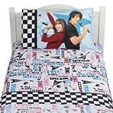 Disney Twin Sheet Set Jonas Brothers Camp Rock Twin Sheet Bedding Set