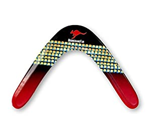Boomerang le BOOMER - 55 gr - Zweiflügler Bumerang, Typ:Rechtshänder
