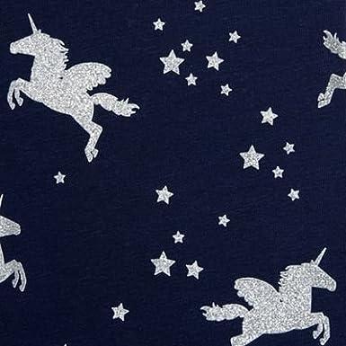 ead815047a889 Childrens Kids Girls' Sparkle Unicorn Print Leggings Age 4-14 Years, Navy:  bluezoo: Amazon.co.uk: Clothing
