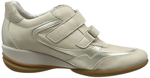 Geox D Persefone a, Zapatillas para Mujer Beige (lt Taupe C5ah6)