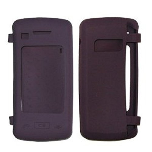 Premium Stelth Purple Silicone Cover Soft Case Cover for Verizon Wireless LG ENV TOUCH (VX-11000) Phone - Non-Retail (Env Touch Phone)