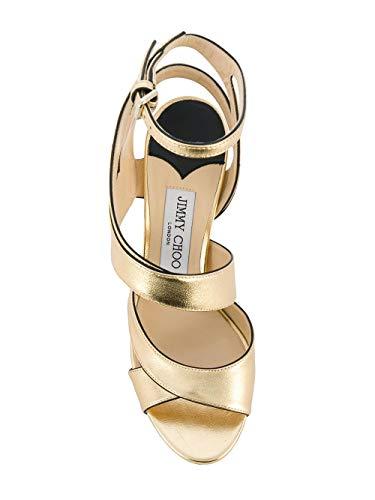 Choo Donna Pelle Sandali Falcon100mnagold Oro Jimmy qFwEdF