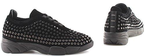Giglio 3 Pinko Shine Black New Espã¡rragos Z99 Baby Mujer Zapato Sneakers FqPZPp