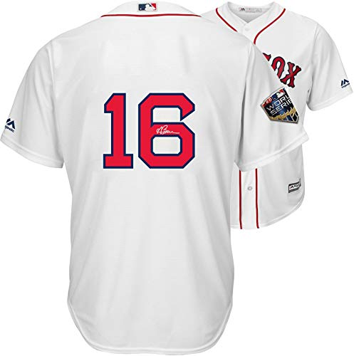 Andrew Benintendi Boston Red Sox 2018 MLB World Series Champions Autographed Majestic White Replica World Series Jersey - Fanatics Authentic ()