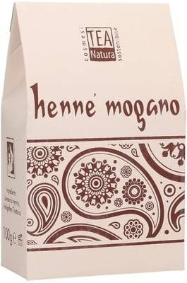 TEA NATURA - Red Henna ''Mogano''(Lawsonia + Indigofera) - Gentle colour with variable colour intensity - Free from sodium picramates - Cares for the hair & scalp - 100 gr