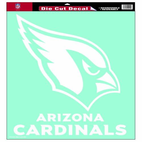 WinCraft NFL Arizona Cardinals 18-by-18-Inch Diecut Decal (Wincraft Arizona Cardinals Decal)