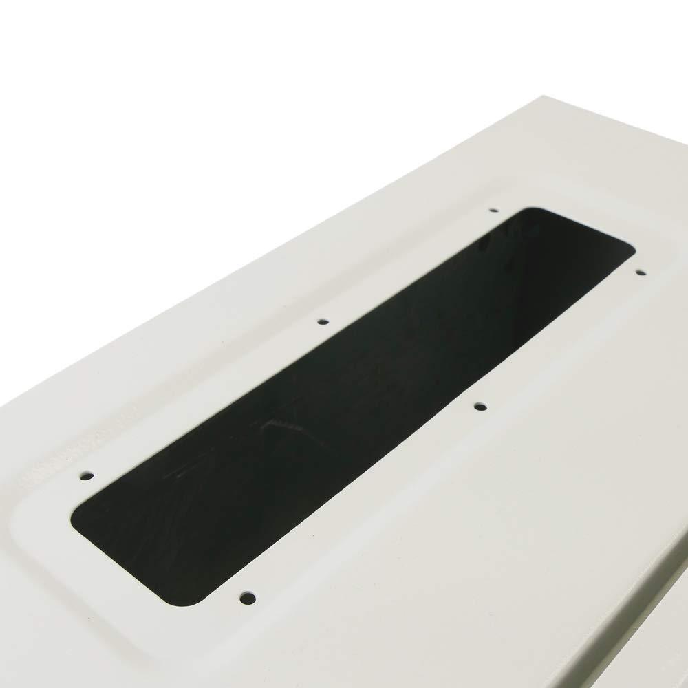 Scatola di distribuzione elettrica di Metallo IP65 per Il Montaggio a Parete 500x500x200mm BeMatik