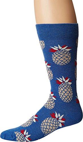 - Happy Socks Men's Pineapple Socks Tan Combo Men's Shoe Size 10-13