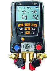Testo 0563 1557 557 Kit de medidor digital de 4 vías con Bluetooth integrado, 3 pulgadas de altura, 5 cm de ancho, 9 cm de longitud