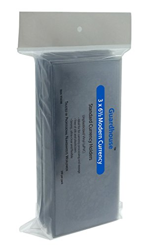 Guardhouse Modern Currency Holder - 100 Pack
