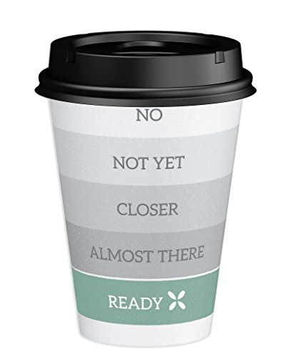 Dixie To Go Hot Beverage Cups & Lids, 12 Oz, 156 count, Assorted Designs, 6 Packs of 26 Count, Disposable Paper Coffee Cups & Lids by Dixie (Image #5)