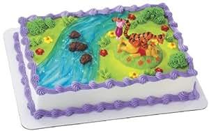 Amazon.com: Winnie the Pooh Tigger and Piglet Cake Kit ...