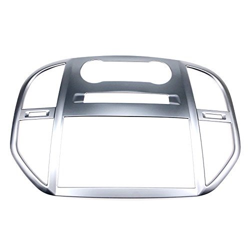 - For Mercedes Benz Vito W447 2014-2018 ABS Interior Center AC Air Outlet Diffuser Vent Navigation Panel Cover Trim 1PCS