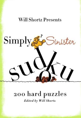 Simply Sinister Sudoku: 200 Hard Puzzles (Simply Sudoku)