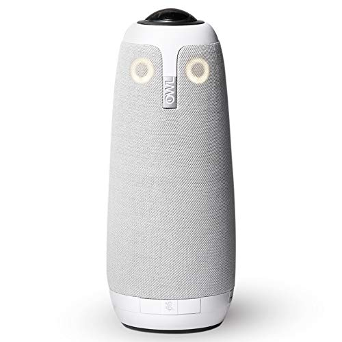 Meeting Owl Pro – 360-Degree, 1080p HD Smart Video Conference Camera, Microphone, and Speaker