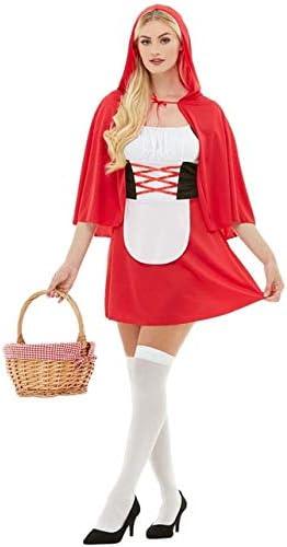 Funidelia Disfraz de Caperucita roja para Mujer: Amazon.es ...