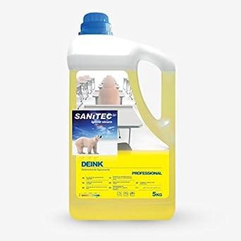 Limpiador Desengrasante Sanitec deink 5 kg solvente Quitamanchas tinta Bolígrafo