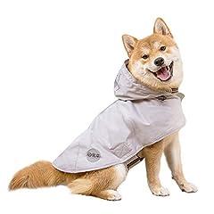 CHOWSING Dog Raincoat Adjustable